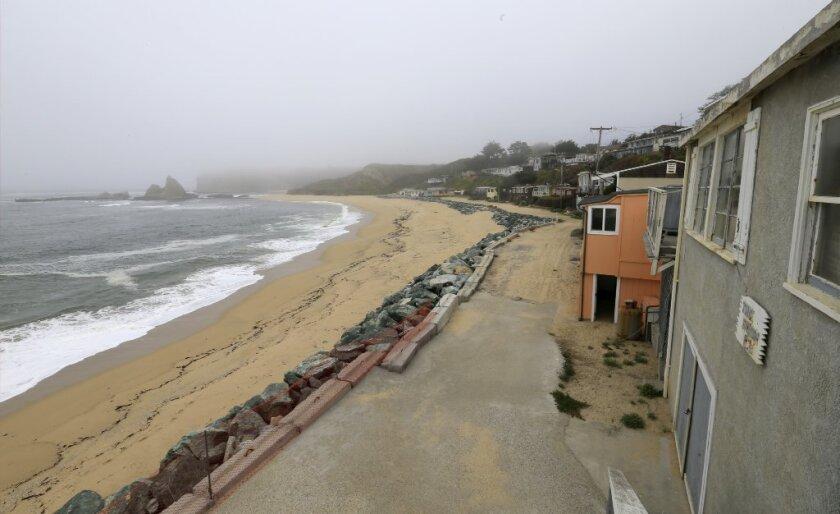 A view of Martin's Beach, near Half Moon Bay