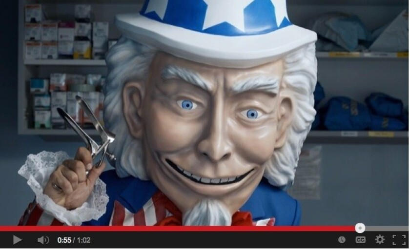 OptOut - The Exam - Creepy Uncle Sam