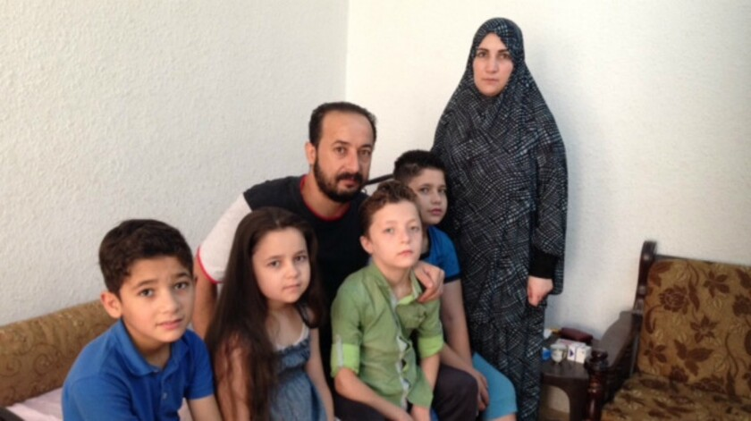 Abd Mawla Jumaa's family, which fled the war-torn Syrian city of Homs four years ago, is now struggling to survive as urban refugees in Jordan.