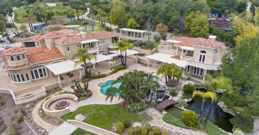 Michael Chang's Coto de Caza mansion