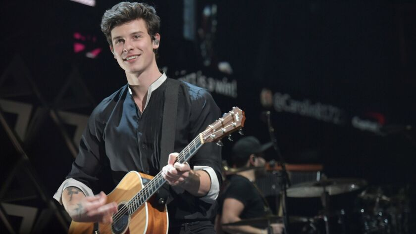 Shawn Mendes, who helped announce the 2019 Grammy Award nominations on Friday, received two nods himself from the Recording Academy.