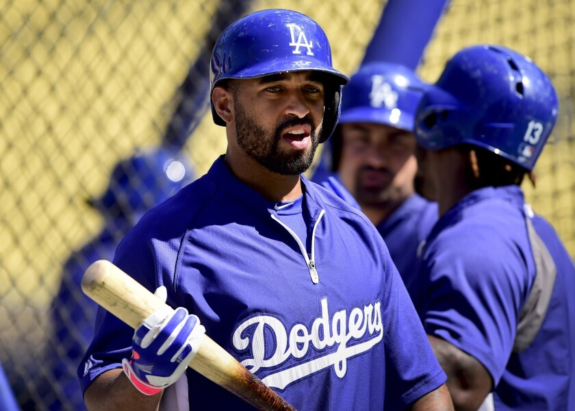 Matt Kemp, above, is represented by agent Dave Stewart, a candidate for the open Diamondbacks general manager position after Arizona's firing of Kevin Towers.