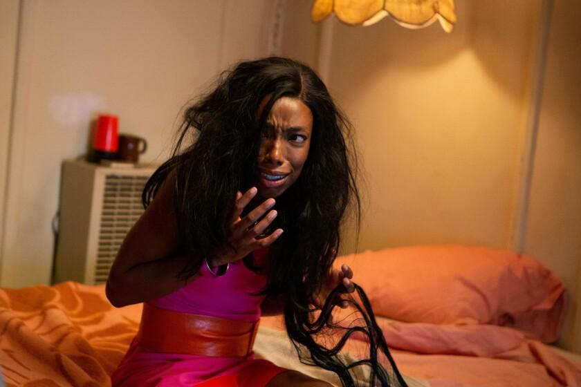 """Elle Lorraine in """"Bad Hair"""""""