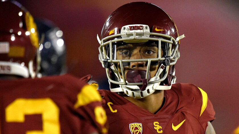 USC's Su'a Cravens counsels against making the UCLA game <i>too</i> big