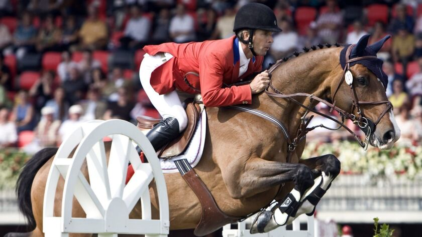 World Cup show jumping veteran Richard Spooner is among the world-class equestrians competing this weekend in Del Mar.