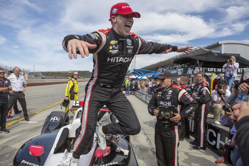 IndyCar Laguna Seca Auto Racing
