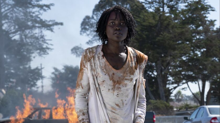 """Lupita Nyong'o in a scene from """"Us."""""""