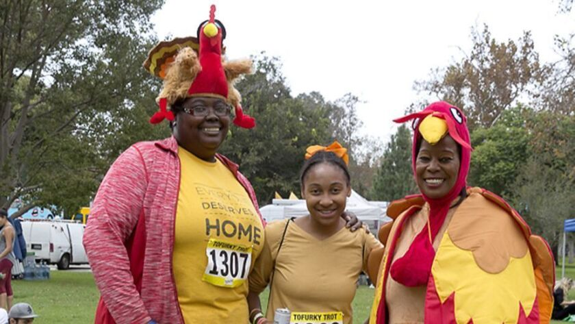 Run or walk off your Thanksgiving dinner at the LA Tofurky Trot Fun Run in Griffith Park -- then eat