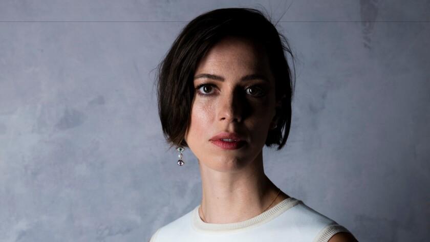 "Rebecca Hall of ""Christine"" at the Toronto International Film Festival in September."