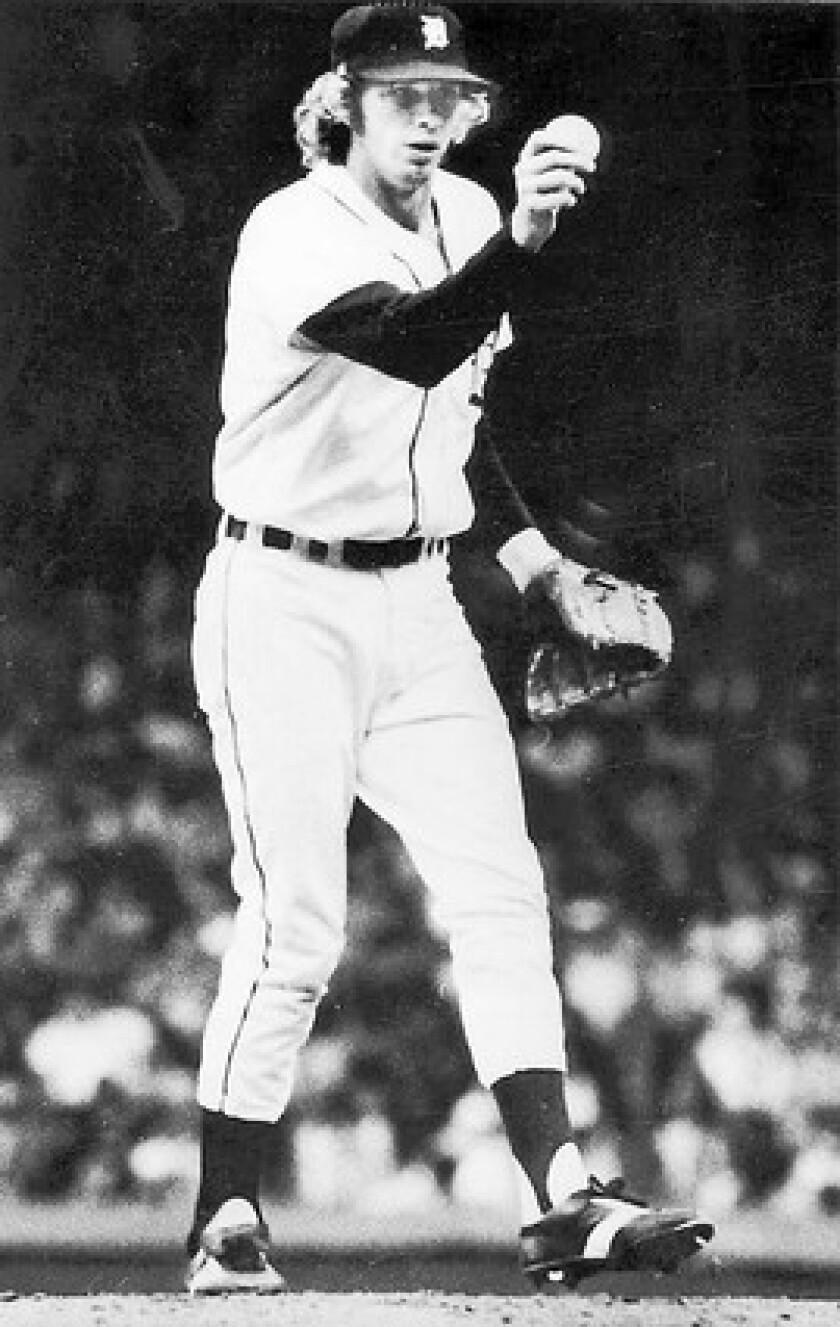 Mark The Bird Fidrych Dies At 54 Quirky Young Pitcher Enthralled Tigers Fans In 76 Los Angeles Times