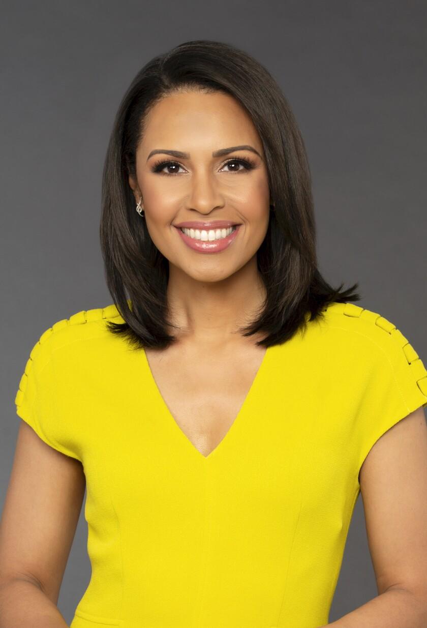Former ABC News correspondent Adrienne Bankert