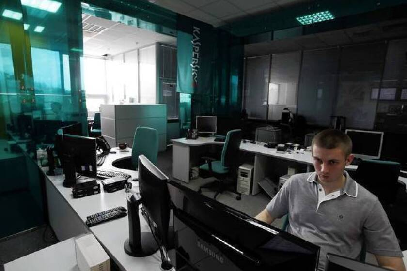 Computer experts at Kaspersky Lab in Moscow, which detected the sophisticated Flame malware, issue warnings about cyber war.