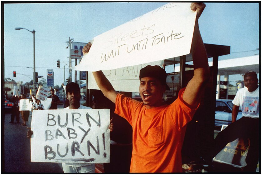 92 L.A. riots doc makers on George Floyd, Black Lives Matter - Los Angeles Times