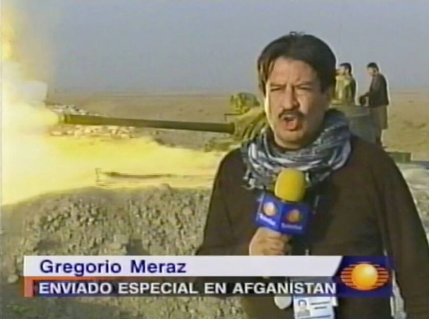 """Gregorio Meraz en su libro """"Periodismo: una lección en cada nota"""
