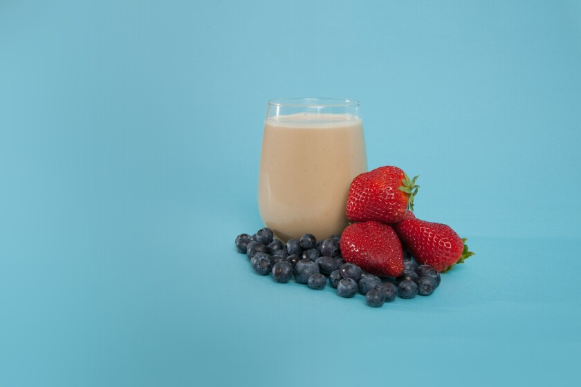 Soylent, usually mixed with water, is touted as a meal replacement.