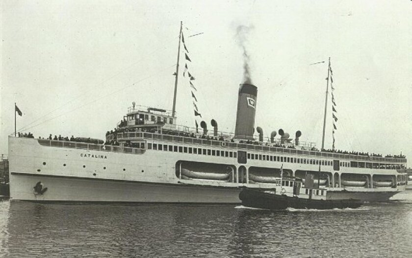 The steamship Catalina in 1924.