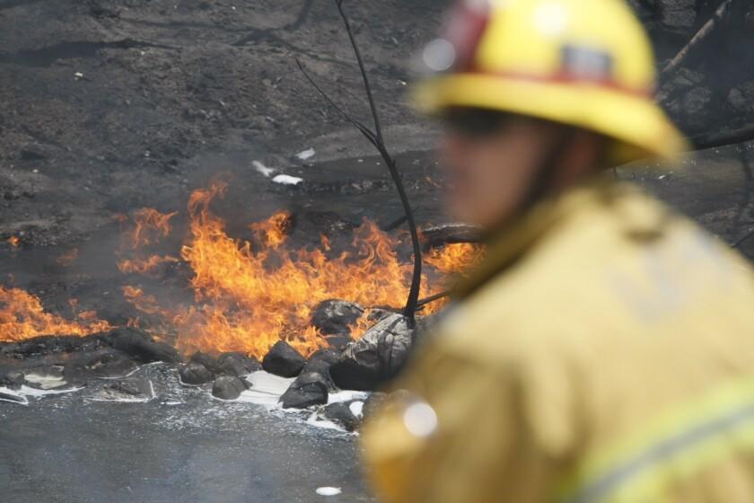 Truck fire: Dodger fans should plan ahead, use alternate routes