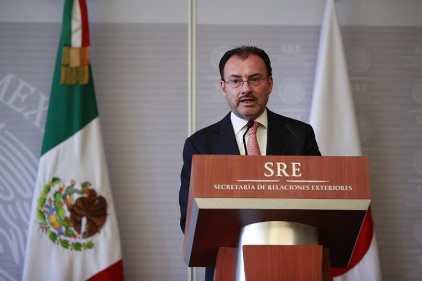 El secretario de Relaciones Exteriores de México (SRE), Luis Videgaray. EFE/Archivo