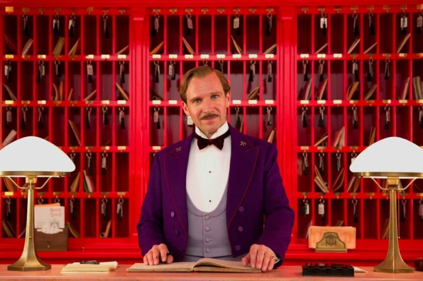 """The Grand Budapest Hotel"" is among the nominees for the Art Directors Guild Excellence in Production Design Awards."