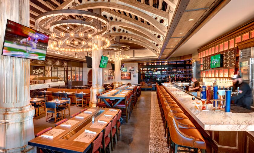 Palace Station's new bBd restaurant is part of a recent hotel upgrade.