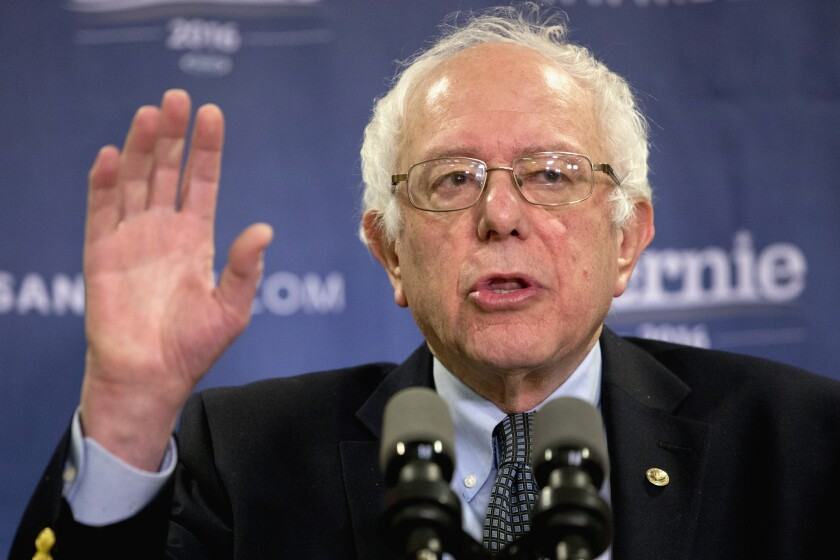 Presidential candidate Bernie Sanders on Saturday introduced a plan to cancel $81 billion in past-due medical bills.