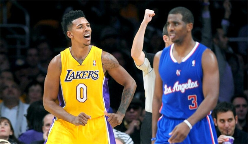 Nick Young, Chris Paul