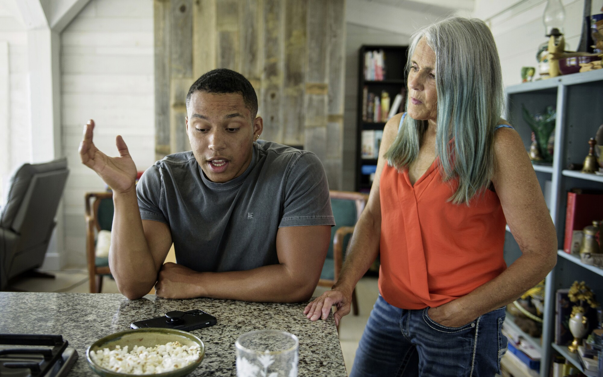 Angry Dad Broken Dishes.A White Mom And Black Son In A Summer Of Racial Reckoning Los Angeles Times