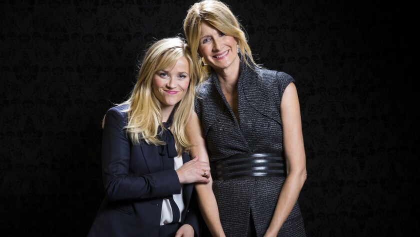 Celebrity portraits by The Times | Reese Witherspoon, left, and Laura Dern