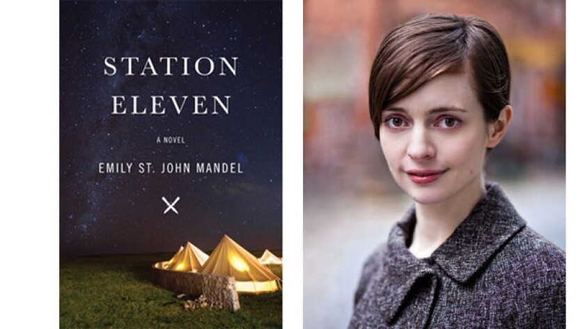 "Emily St. John Mandel's novel ""Station Eleven"" has won the Tournament of Books"