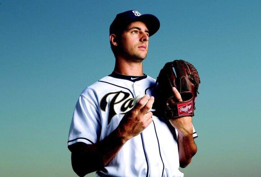 Padres right-hander Donn Roach