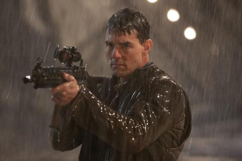 """Tom Cruise starred in the 2012 movie """"Jack Reacher,"""" which was rated PG-13. Gun violence in PG-13 movies has exploded since the rating was introduced in the mid-1980s, according to a new study."""