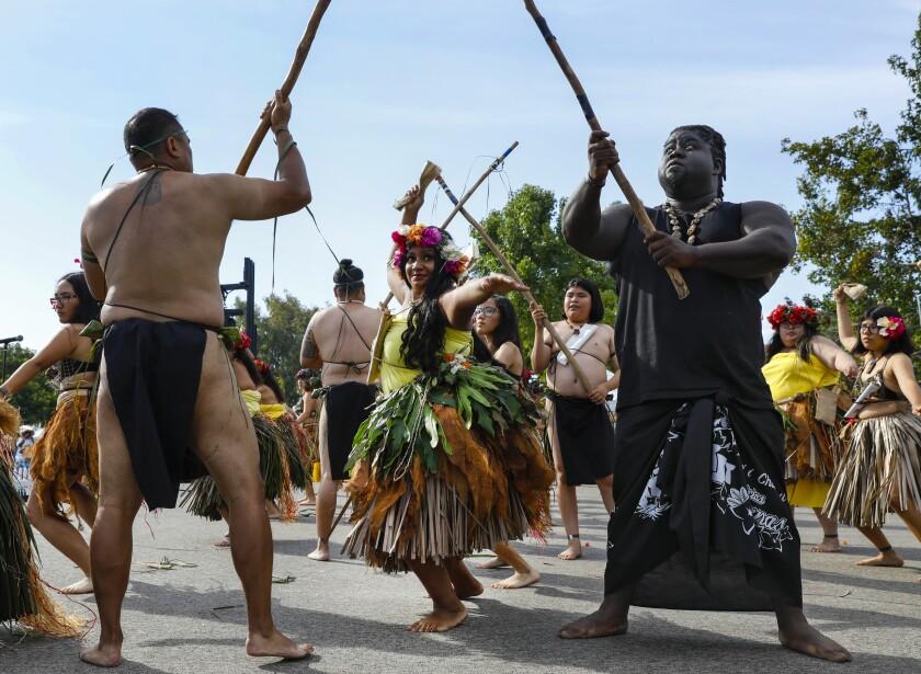 Chamorro dance performance