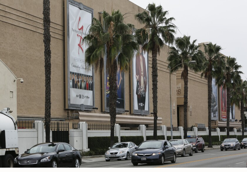 Sony Pictures Studios in Culver City on December 1, 2014.