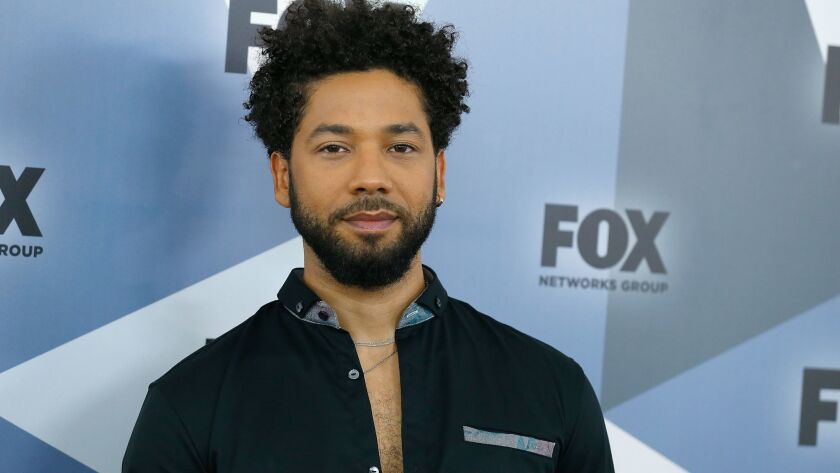 """Empire"" star Jussie Smollett hospitalized after he was targeted in possible hate attack"