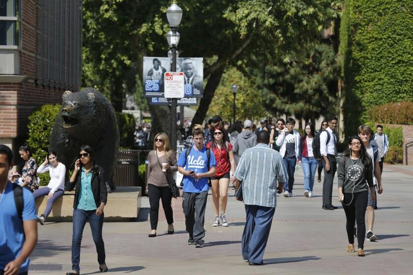 Freshmen admissions to UC campuses