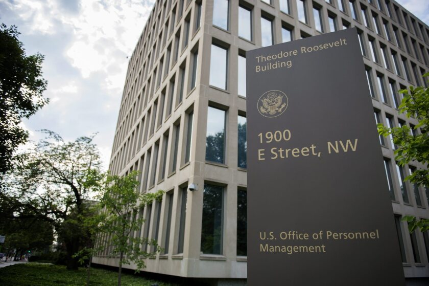 The Office of Personnel Management building in Washington. The OPM announced Thursday that personal data of 25 million people were stolen.