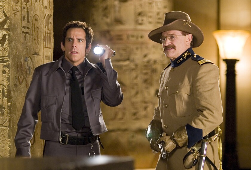 """Ben Stiller and Robin Williams in """"Night at the Museum"""""""
