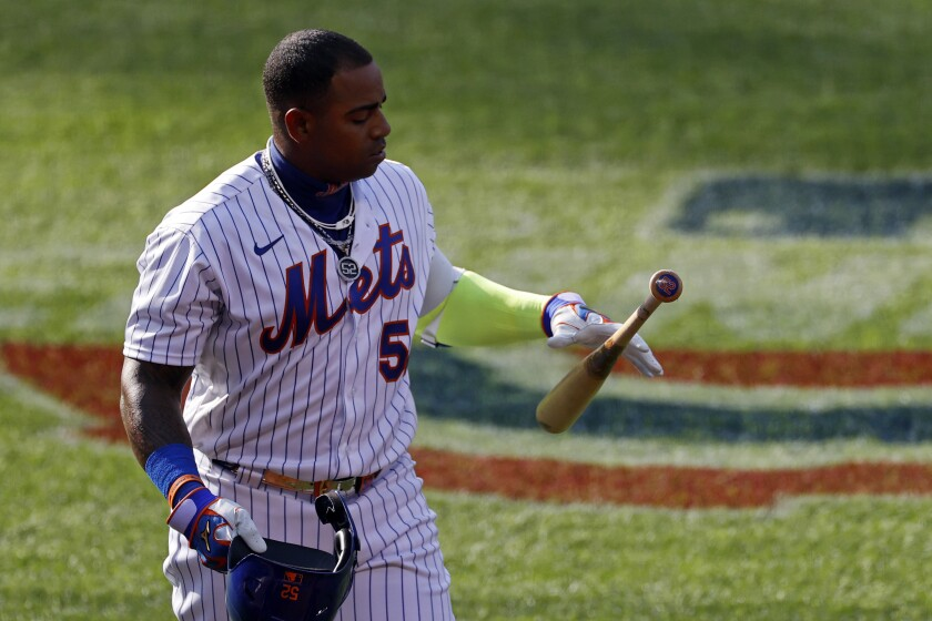 Mets Say Cespedes Absent From Ballpark No Reason Given The San Diego Union Tribune