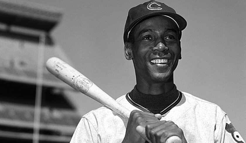 Ernie Banks hit a two-run homer in the first inning of the 1960 All-Star Game in Kansas City to help the NL to victory.