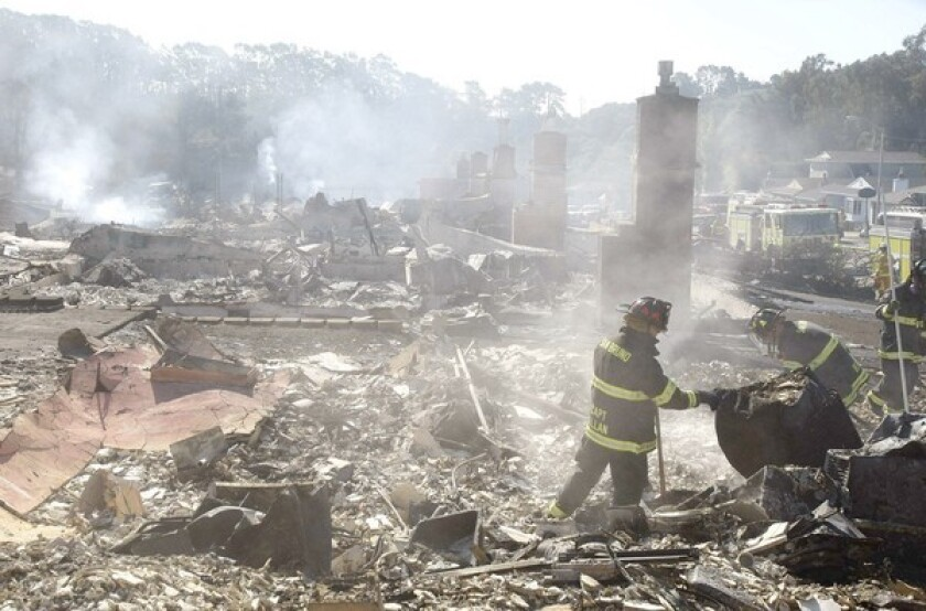 The explosion of a PG&E gas pipeline in San Bruno leveled a neighborhood and killed eight people.