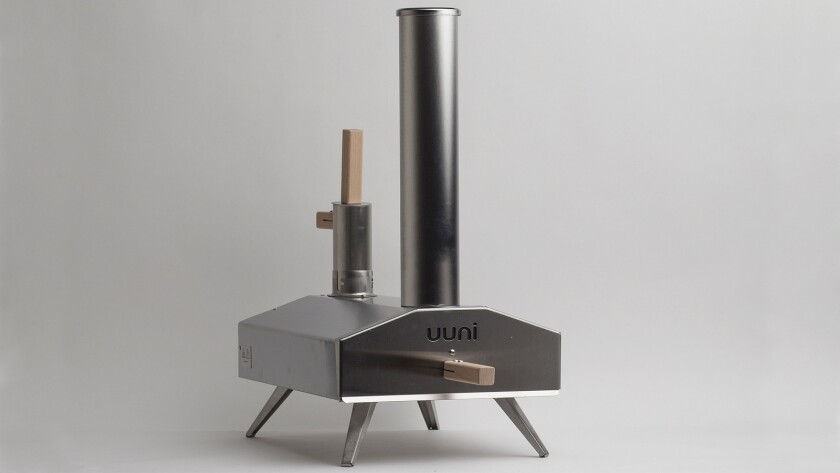 The Uuni Pizza Oven is portable.