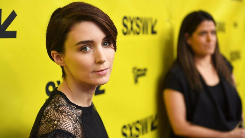 """Rooney Mara appears at South by Southwest for the premiere of Terrence Malick's """"Song to Song."""""""