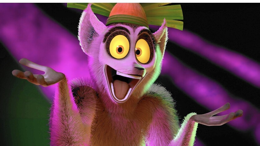 "Lemur King Julien illustrates the comedic value of secondary players in DreamWorks Animation' s ""All Hail King Julien"" series."