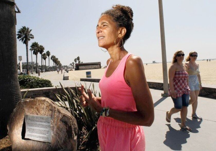 Historian Alison Rose Jefferson has studied Inkwell beach and will participate in a panel discussion Sunday in Santa Monica.
