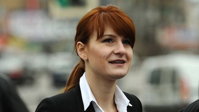 Russian agent Butina's boyfriend charged by US with fraud