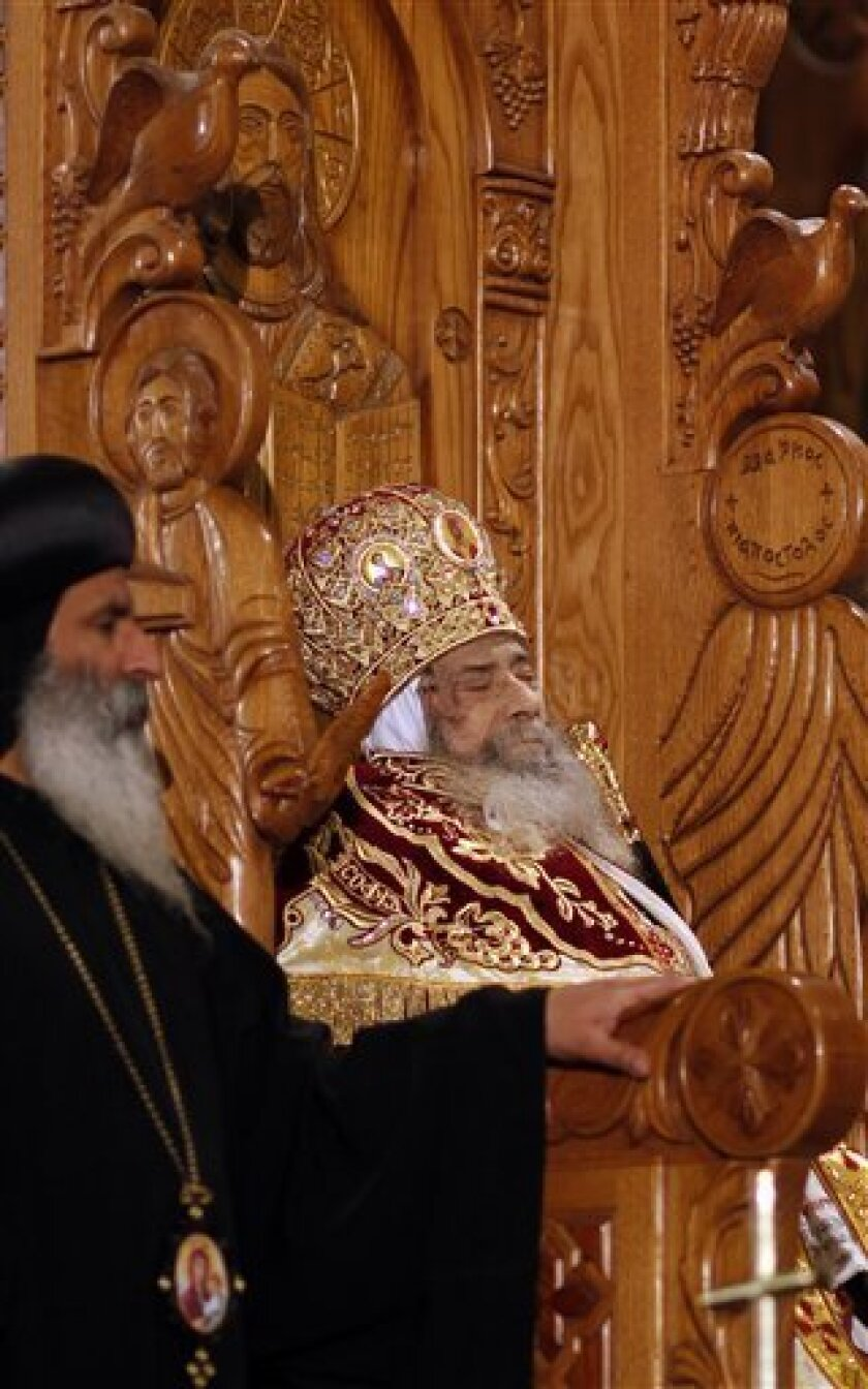Egypt: 3 dead in viewing of embalmed Coptic Pope - The San
