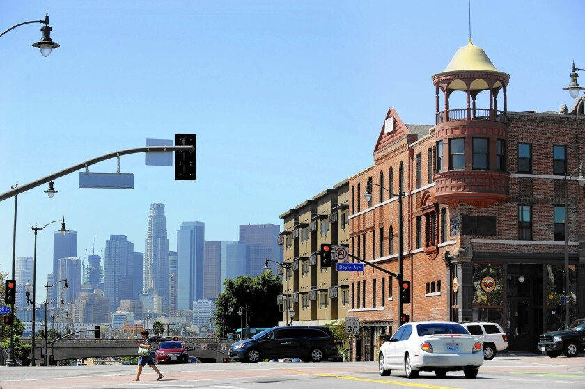 The East L.A. Community Corp. converted the Victorian-era Boyle Hotel-Cummings Block near Mariachi Plaza to an affordable housing complex.