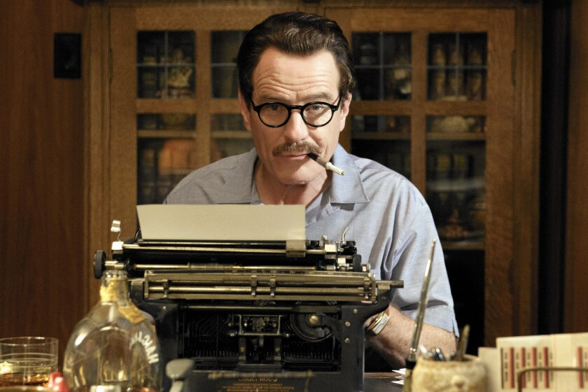 "Bryan Cranston stars as blacklisted screenwriter Dalton Trumbo in ""Trumbo."""