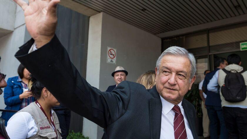 MEXICO-ELECTIONS-CANDIDATES-LOPEZ OBRADOR