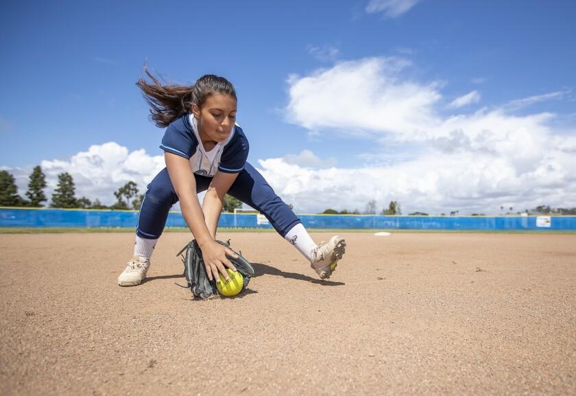 Corona del Mar freshman shortstop Sydney Walls is the Daily Pilot High School Female Athlete of the